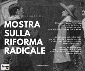 Invito Mostra sulla riforma radicale - settembre 2017