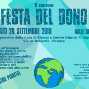 Pubblicità Festa del dono 2019
